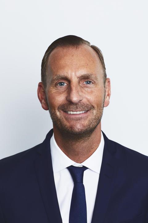 Jesper Aagaard,  Division president, Europe, GTT
