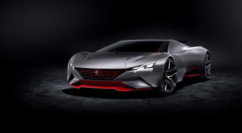 PEUGEOT Vision GT concept car