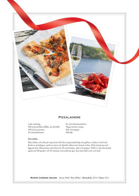 Recept: Pizzaladiere