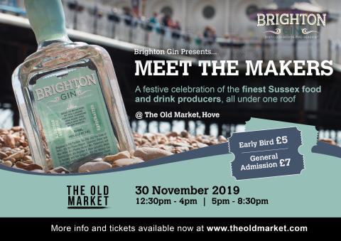 ​Brighton Gin Presents: A Festive Feast of Sussex Food and Drink Producers