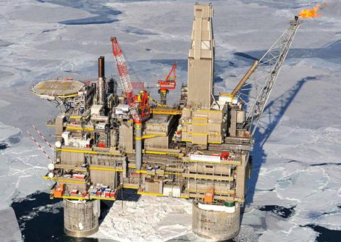 Sakhalin-oljefeltet i Russland