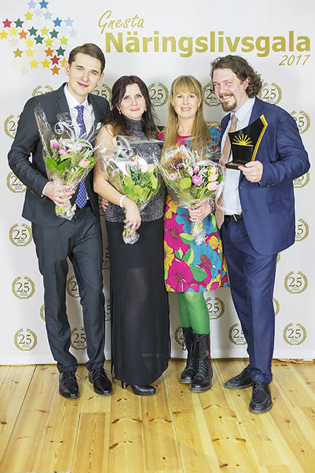 Årets pristagare på Gnesta näringslivsgala
