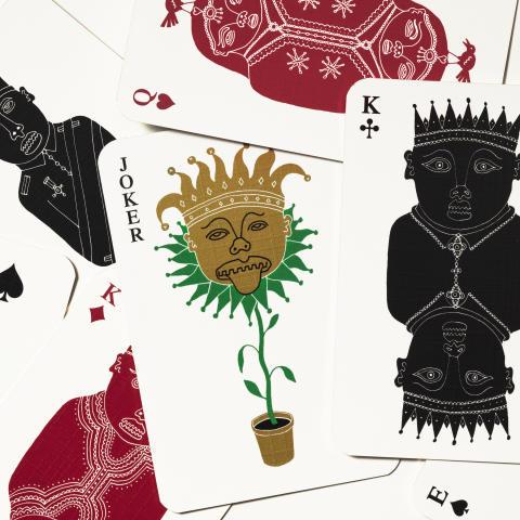 "Pack of Cards ""Spader Häst"" – Eric Ericson"
