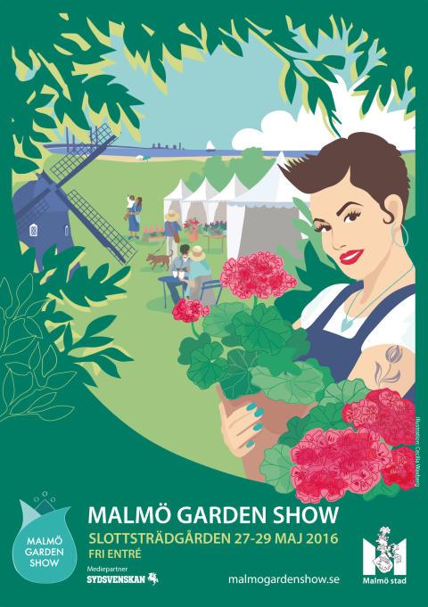 Något för alla på Malmö Garden Show