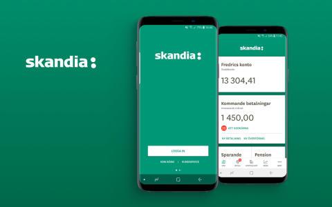 Smart Refill releases new version of Skandiabanken's award-winning mobile bank