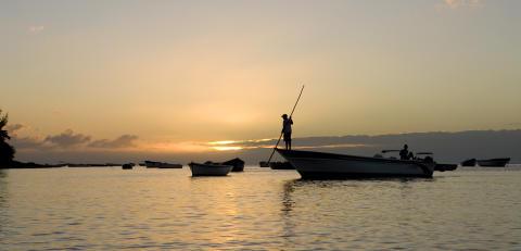 Mauritius_Fischer im Abendlicht©MTPA_Bamba