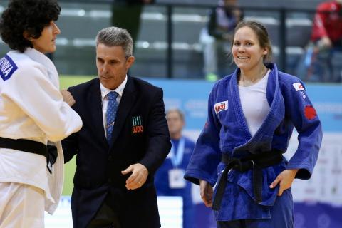 IBSA Judo World Championship Odivelas 2018 Nicolina Pernheim SWE