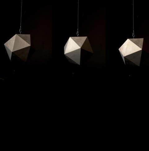 Sara Wallgren / Installation Vita kuben