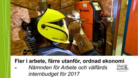 NAV - Internbudget 2017