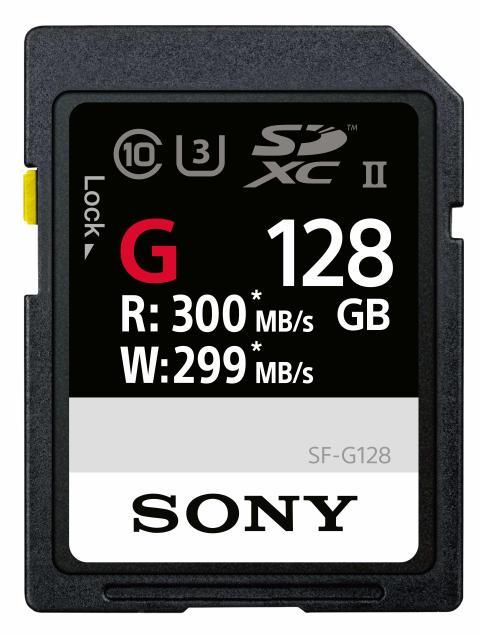 SF-G Serie: Sony präsentiert schnellste SD Karte der Welt