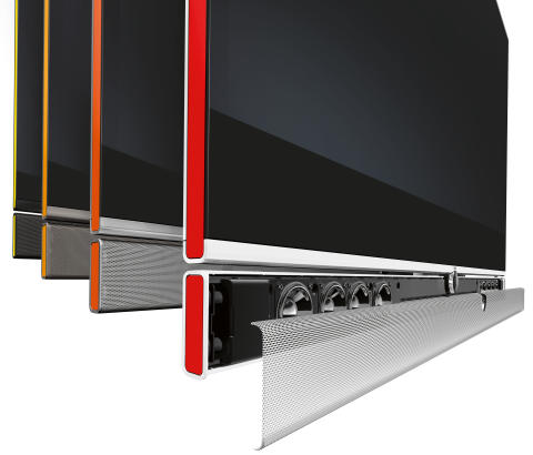 Individual Slim Frame, high quality sound performance