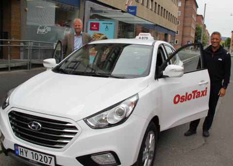 Oslo Taxi tror på hydrogen