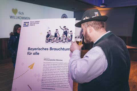 Paulaner Salvator-Preis 2019 Schwuhplattler