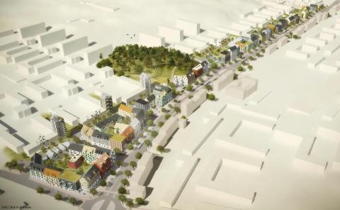 Ytterligare 700 bostäder planeras i Backa - nu startar samrådet om Litteraturgatan!