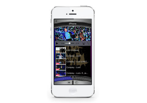 Creation 5 iPhone App - Find Video Clip Feature