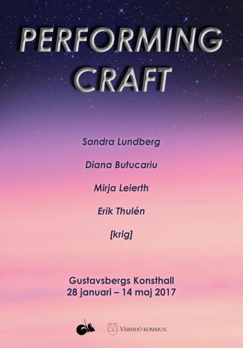Performing Craft – välkommen på vernissage!
