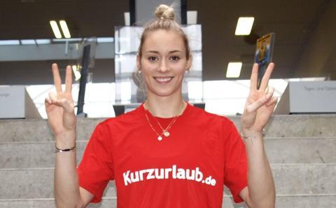Volleyball-Star Lippmann: Jubel, Trubel, Kurzurlaub