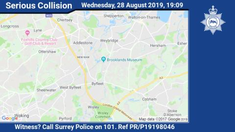 Appeal for witnesses after man dies in M25 collision