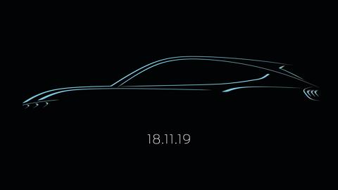 Verdenspremiere for Fords nye helektriske Mustang-inspirerte SUV