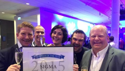 Sigma vinner InRiver Partner of the Year Award!