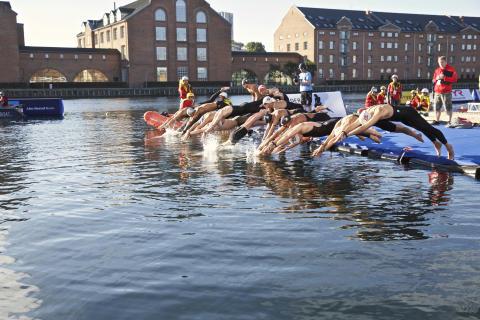 Nordens stærkeste åbent vand-svømmere samles til åbne nordiske mesterskaber