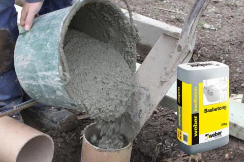 weber basbetong- en allround-betong för gör-det-självaren