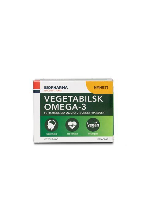 Biopharma Vegetabilsk Omega-3