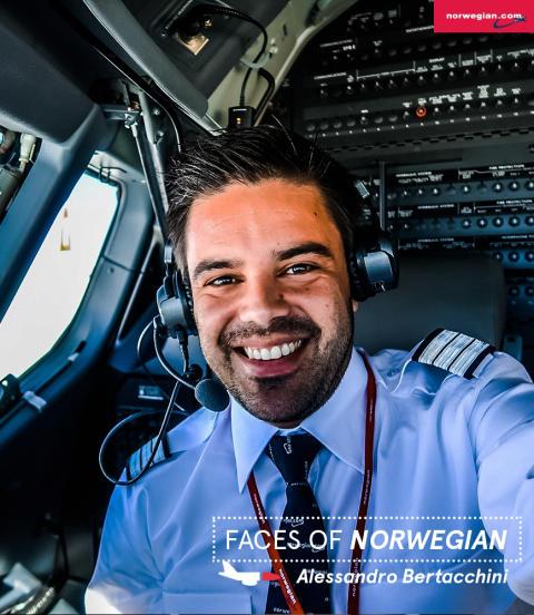 Faces of Norwegian: Alessandro Bertacchini