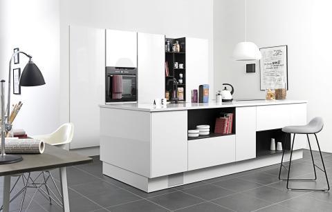 New life køkkenet er tænkt og tegnet til det moderne familieliv