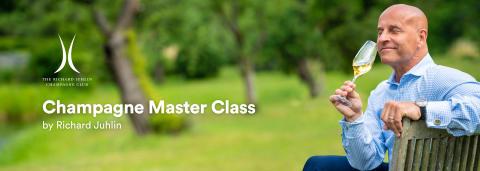 Världens främste Champagneexpert Richard Juhlin släpper idag Master Class på Starflow