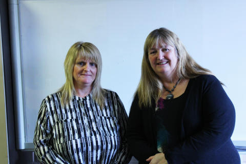 Minister visits Valleys social firm to explore digital learning and skills opportunities