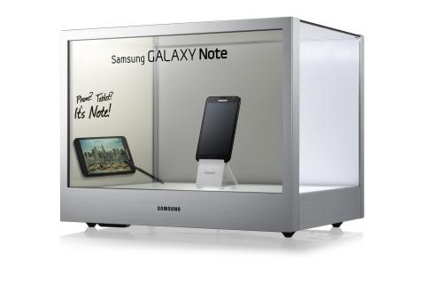 Samsung Transparent Display NL22B