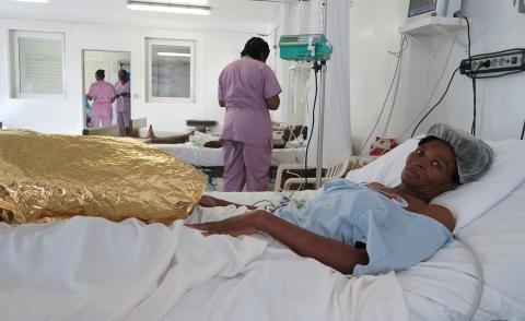 Haiti: Läkare Utan Gränser öppnar traumasjukhus i Port-au-Prince