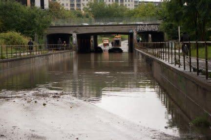 Banbrytande arbete kring översvämningar av städer
