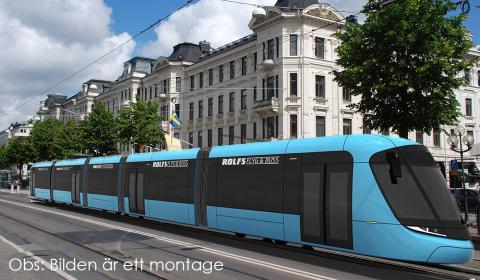 Rolfs Flyg & Buss storsatsar på ny järnvägsteknik