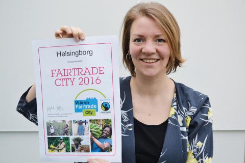 Fördjupat Fairtrade City-arbete fjärde året