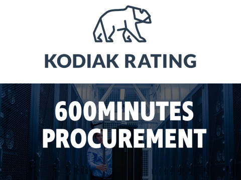 Kodiak Rating joins the festivities at 600 Minutes Procurement
