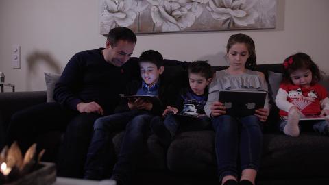 E-böcker och ljudböcker för hela familjen