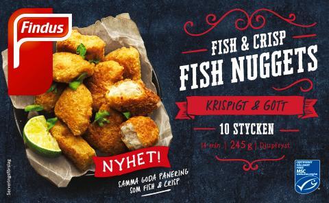 Fish & Chrisp Fish Nuggets