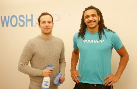 Woshapp tar in 10 MSEK för att skala upp den miljövänliga biltvätten