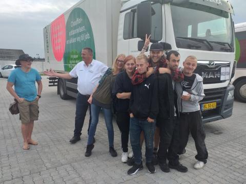 8 unge undersøgte transportbranchens mange jobmuligheder