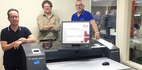 Australian Graphics install the first PlateWriter 3600 Pro in Australia