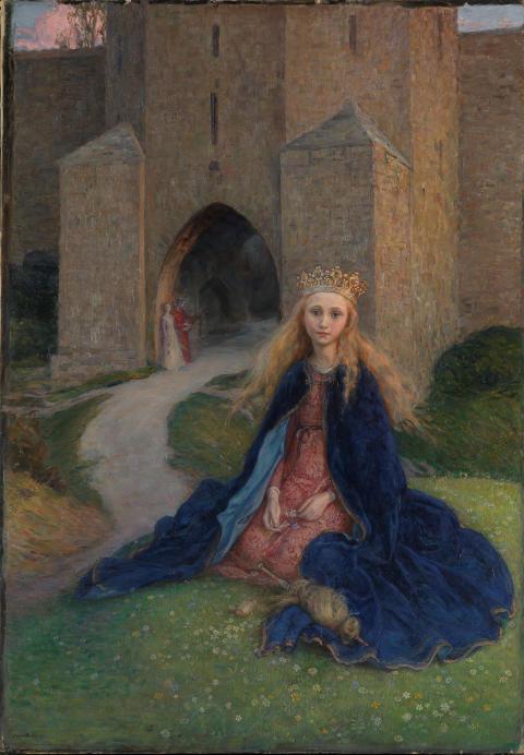 Eventyrrommet. Hanna Pauli, Prinsessen, 1896