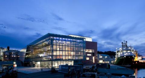 Premiär för nytt konserthus i norsk kulturhuvudstad