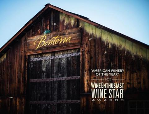 Bonterra – Winery of the Year 2016