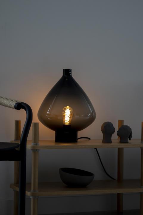Bordlampe 4218 Røkgrå