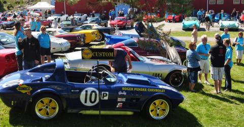 Corvette-entusiaster intar Grebbestad