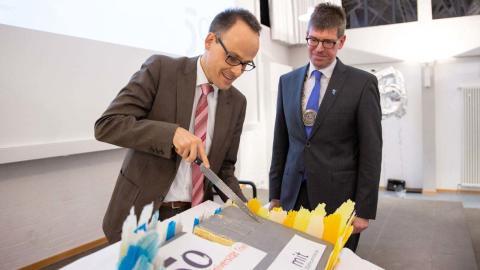 Die Universität Trier hat ihr Jubiläumsjahr eröffnet
