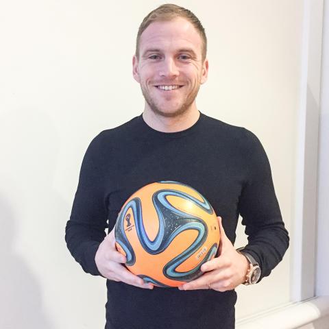 Jonathan är ny projektledare för SM i Beach Soccer