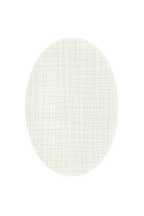 R_Mesh_Line Cream_Platte 34 cm